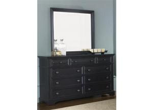 917 Carrington II 9 Drawer Dresser