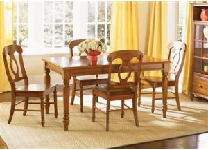 76 Low Country Rectangle Table w/4 chairs