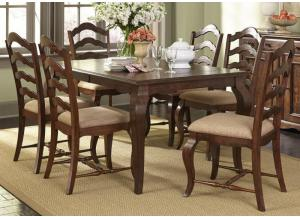 Woodland Creek 7-pc Rectangular Dining Set