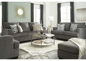 Dorsten Gray Sofa and Loveseat