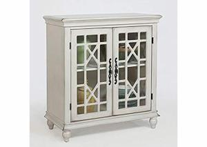Ivory Accent Cabinet