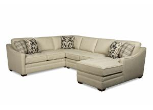 Three Piece F9 Sectional in Uptown 10