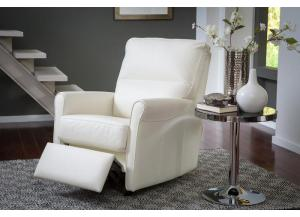 Pinecrest Top Grain Leather Rocker Recliner