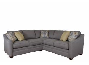 Two Piece F9 Sectional In Sugar Shack 21