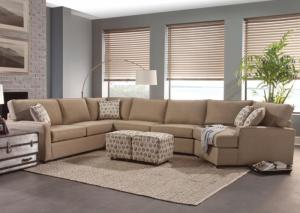 4 Piece Custom Sectional