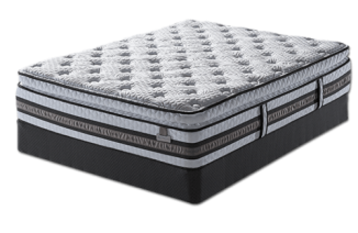 Merit Super Pillow Top King,Serta