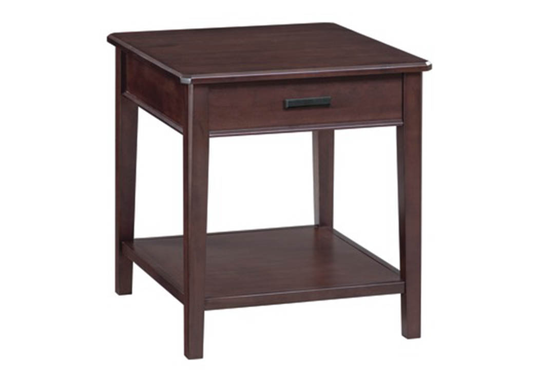 CAF StaytonEnd Table,Whittier Wood