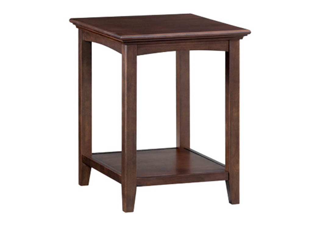 CAF McKenzie Side Table,Whittier Wood
