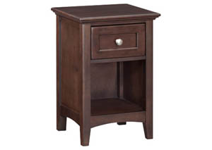 Image for CAF 1-Drawer McKenzie Nightstand