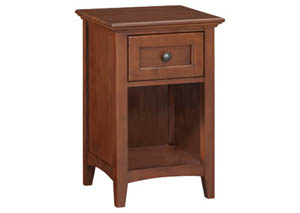 GAC 1-Drawer McKenzie Dresser Nightstand