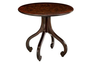 Paris Round Lamp Table