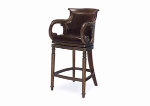 Jockey Club Swivel Barstool