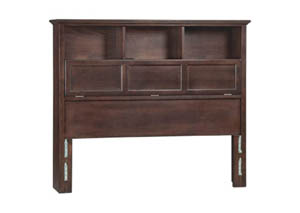 Image for CAF McKenzie Full Bookcase Headboard
