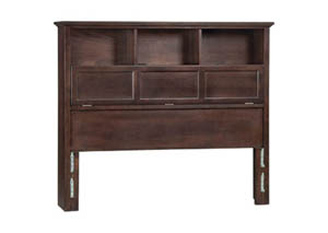 Image for CAF McKenzie Queen Bookcase Headboard