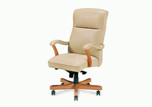 Bailey High Back Swivel Tilt Pneumatic Lift Chair