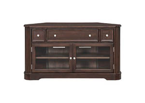 "Image for CAF McKenzie 54"" Corner Media Console"