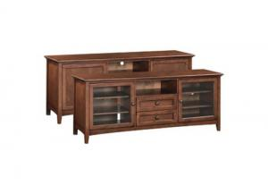 "Image for GAC McKenzie 74"" 2-Drawer Center Channel Console"