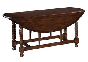 Bobbin Leg Drop Leaf table