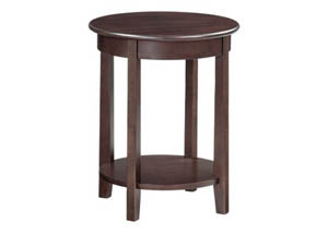 CAF McKenzie Round Accent Table