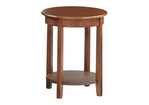 GAC McKenzie Round Accent Table