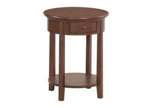 GAC McKenzie Round Side Table