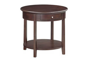 Image for CAF McKenzie Round End Table