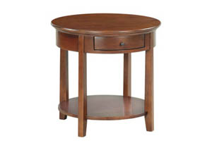 Image for GAC McKenzie Round End Table