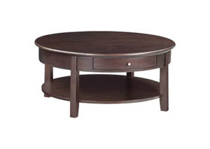 Image for CAF McKenzie Round Cocktail Table