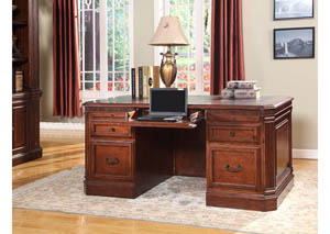 Wellington Double Pedestal Desk