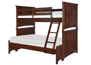 Riley Complete Bunk Bed - Twin Over Full