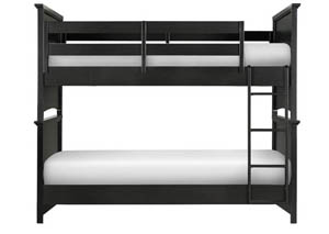 Bennett Complete Bunk Bed - Twin over Twin