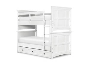 Kenley Complete Bunk Bed Twin over Twin