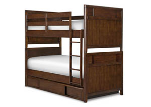 Twilight Complete Bunk Bed Twin over Twin