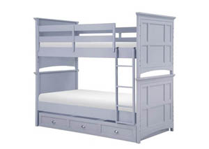Graylyn Complete Bunk Bed Twin over Twin