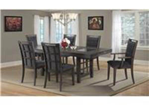 Keaton Dining Set Table With 6 Chairs $899
