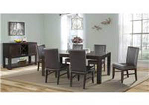 Lansing Dining Set Table With 6 Chairs $899