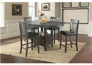 Max Dining Set Table With 4 Chairs $599