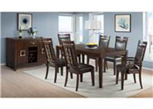 Rodney Dining Set Table With 6 Chairs $999