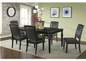 Westbury Dining Set Table With 6 Chairs $999