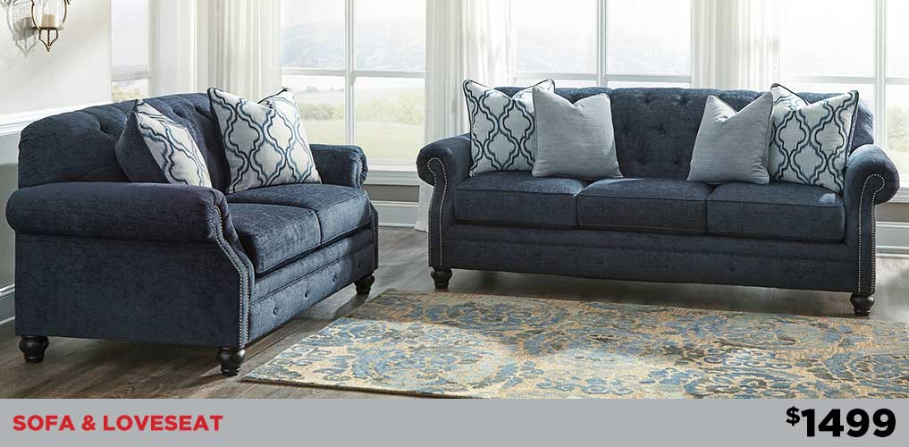 LaVernia Sofa & loveseat
