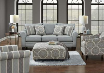 Grande Mist Sofa w/Revolution Fabric