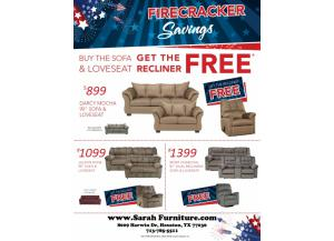Free Recliner Living Room Sale $1099