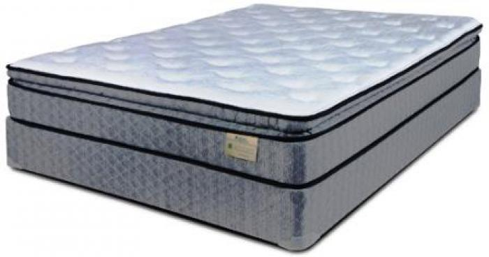 Steel Fleece Twin Mattress & Foundation,Englander Mattress