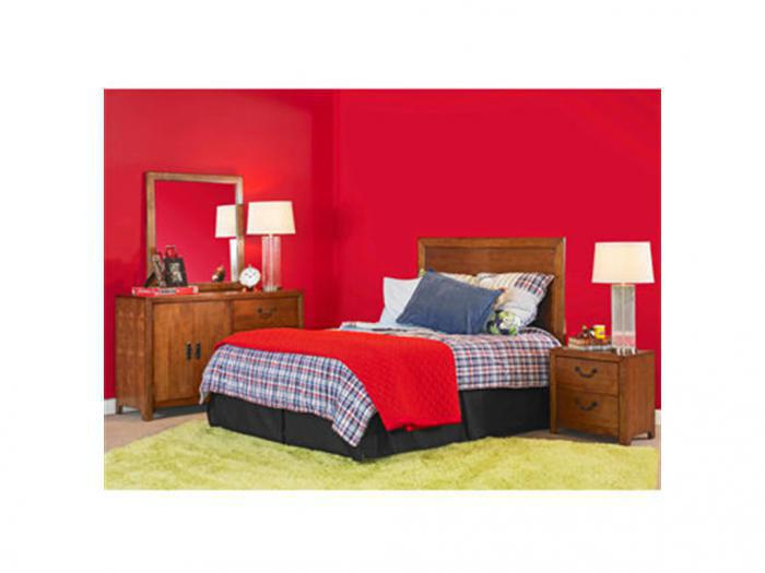 Finley Youth Dresser, Mirror, Full Size Headboard and Nightstand,FREIGHT SPECIALS