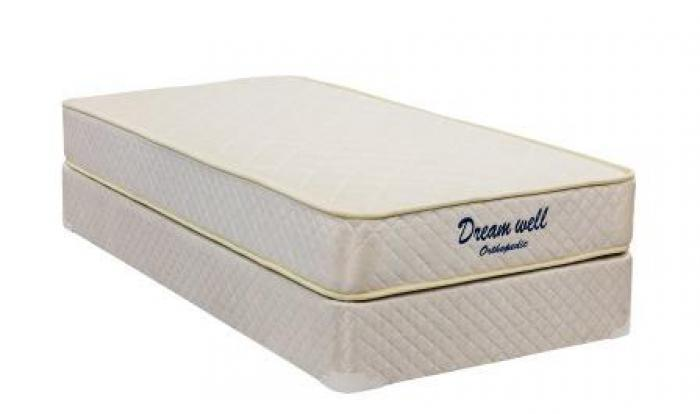 NJDI UF000 PROMO Twin Mattress & Foundation,Dream Well Bedding
