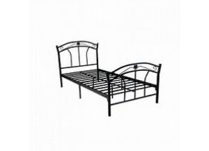 Hodedah Metal Twin Bed