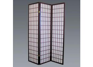 Cherry 3 Panel Room Divider