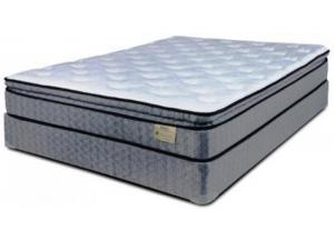 Steel Fleece Queen Mattress and Foundation