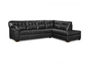 Showtime Onyx Chaise Sectional