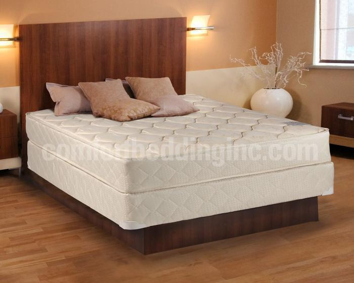 Single Sided Beige Gentle Firm Tight Top Queen Set,Comfort Mattress